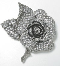 A brooch from Estate by Monet.