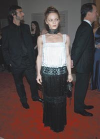 Vanessa Paradis in Chanel.