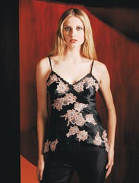 Embroidered camisole from Sue Wong.