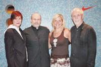 Rose Brantley, Otis' chairwoman, Peter Kolsky, Mindy Grossman and Otis trustee Dick Baker.