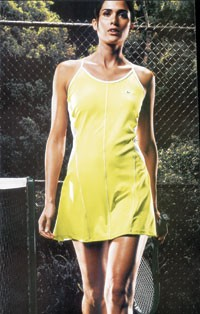 Nike tennis looks have been strong sellers at Mason's Tennis Mart in Manhattan.