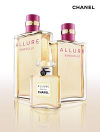 Several sizes of Allure Sensuelle.