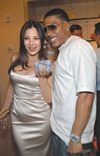 Fran Drescher, Nelly and the $50,000 evening clutch.