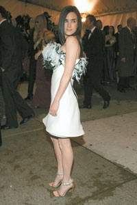 Jennifer Connelly in Balenciaga at the Met.