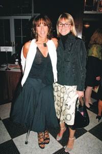 Donna Karan and Bonnie Pressman