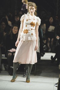 A Pringle look from fall 2005.