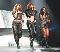 Destiny's Child in the House of Dereon.