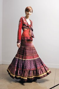 A Common Thread combines Moroccan, Native American and Asian stylings.