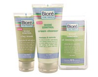 Select items from the Biore Shine Control collection.