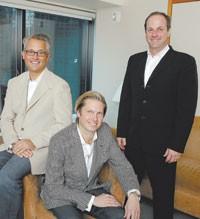 Mark Badgley, James Mischka and Neil Cole.