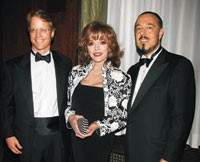 Neil Fiske, Joan Collins and Marc Rosen.