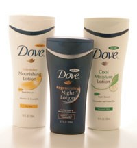 Offerings from Dove.