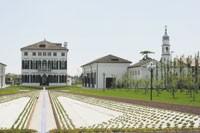 Benetton's corporate headquarters in Ponzano Veneto, Italy.