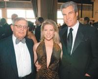 John Pomerantz, Tina Stephan and Terry Lundgren.