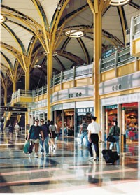 Mall developer The Westfield Group repositioned the retail at Ronald Reagan Washington National airport.