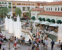 CityPlace in West Palm Beach is a specialty lifestyle development anchored by Macy's.