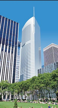 The Durst Organization and Bank of America teamed up to build One Bryant Park, a much-hyped skyscraper, expected to gain LEED-certification when it is completed.