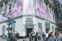 Victoria's Secret saw operating income increase by $6.2 million.
