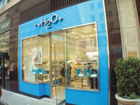 H20 Plus' new store in New York.