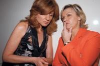 Arianna Huffington and Tina Brown.