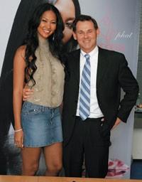 Kimora Lee Simmons and Bernd Beetz