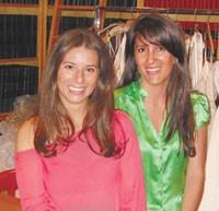 Melissa Haberman and Michelle Gertzman