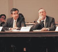 Auggie Tantillo, AMTAC, and Karl Spilhaus, NTA.