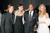 Kevin Bacon, Rachel Roy, Damon Dash and Christie Brinkley.