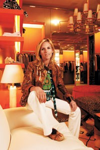 Tory Burch in her Los Angeles store.