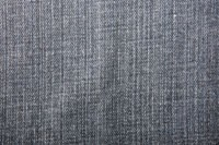 Avondale's Genoa fabric is a ring-by-ring denim with lots of texture in a carbon indigo color.