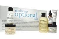 Philosophy's Makeup Optional kit is sold via infomercial.