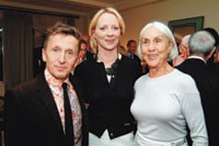 Simon Doonan, Linda Wells and Polly Mellen.
