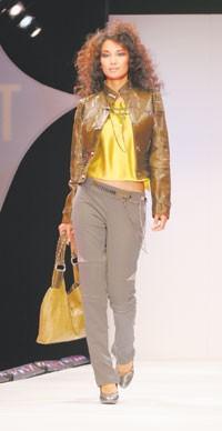 Renata Radomski's winning sportswear look selected by Zac Posen.