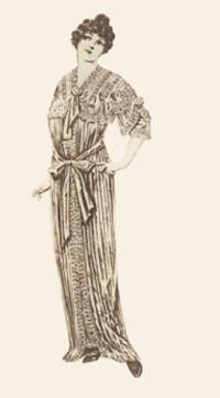 Lena Bryant's tea gown.