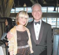 Ashleigh Verrier and Parsons' Timothy Gunn.