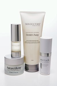 Products from Skin Doctors Cosmeceuticals.
