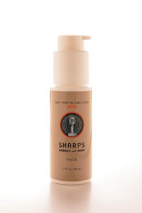 Sharps Daily Prep Oil-Free Lotion SPF 15.