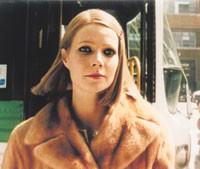 "Gwyneth Paltrow wore her Fendi fur through most of ""The Royal Tenenbaums."""