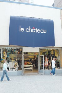 Le Chateau's 34th Street location in Manhattan.