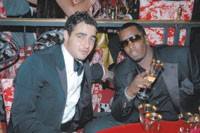 Zac Posen and Sean Combs