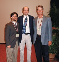 William Romollino of Time-Warner Retail Sales and Marketing with Ryan Broderick and Mike Fitzgerald.