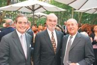Kellwood's Robert Skinner Jr., Marty Brody and Hal Upbin.