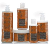 Rescue Beauty Lounge's bath and body line.