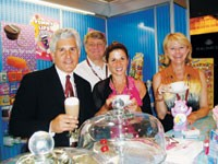 Steph Fogelson, Jim Golomb, Eileen Rappaport and Susan Kisill of Lotta Luv.