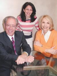 Neal Hochman, Sara Allard and Carole Hochman.