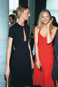Jacquetta Wheeler and Gemma Ward