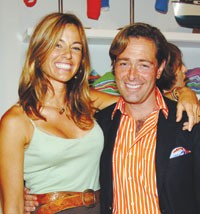 Kelly Bensimon and Jeff Pfeifle