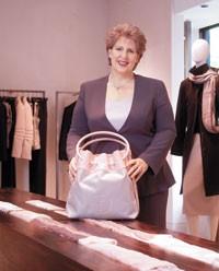 Victoria Cantrell, senior vice president and chief information officer, Giorgio Armani Corp., inside the Michigan Avenue Giorgio Armani boutique in Chicago.