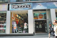 Billabong now has a flagship in Manhattan to showcase its offerings.
