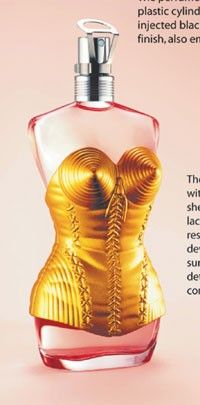 Dapy Paris made the corset on this Gaultier scent.